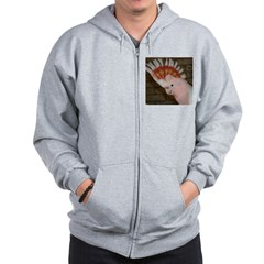 Major Mitchells Cockatoo Zip Hoodie