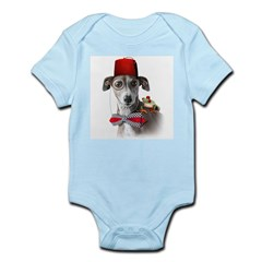 Italian Greyhound Adventure Dog Infant Creeper
