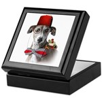 Adventure Dog Italian Greyhound Keepsake Box