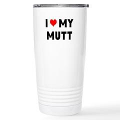 LUV MY MUTT Travel Mug