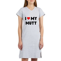 LUV MY MUTT Women's Nightshirt
