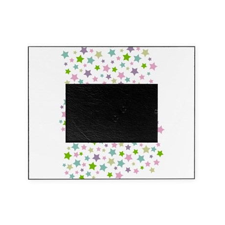 Pastel Stars Pattern Picture Frame