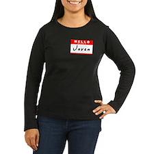 Jovan, Name Tag Sticker T-Shirt
