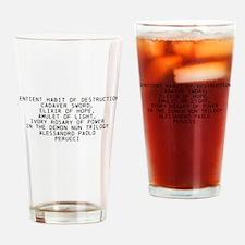 Preview Demon Nun trilogy Drinking Glass