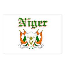 Niger designs Postcards (Package of 8)