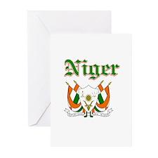 Niger designs Greeting Cards (Pk of 20)