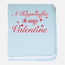A Ragamuffin is my valentine baby blanket