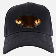 black cat eyes Baseball Hat