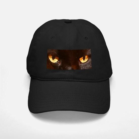 black cat eyes Baseball Hat
