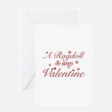 A Ragdoll is my valentine Greeting Card