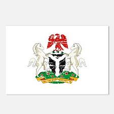 Nigeria designs Postcards (Package of 8)