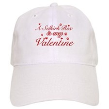 A Selkirk Rex is my valentine Baseball Cap
