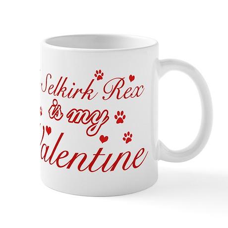 A Selkirk Rex is my valentine Mug