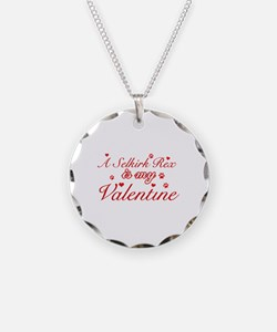 A Selkirk Rex is my valentine Necklace