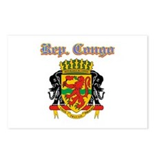 Republic of Congo designs Postcards (Package of 8)