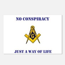 Freemasonry 4th Edition Postcards (Package of 8)