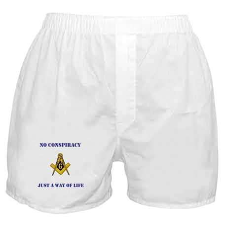 Freemasonry 4th Edition Boxer Shorts