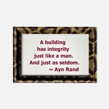 Ayn Rand Quote Rectangle Magnet