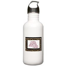 Ayn Rand Quote Water Bottle