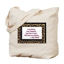 Ayn Rand Quote Tote Bag