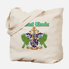 Saint Lucia designs Tote Bag