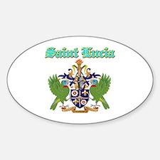 Saint Lucia designs Decal