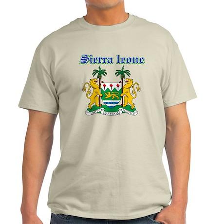 Sierra Leone designs Light T-Shirt