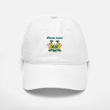 Sierra Leone designs Baseball Baseball Cap