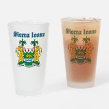 Sierra Leone designs Drinking Glass