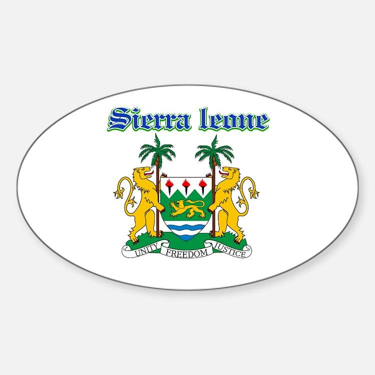 Sierra Leone designs Decal