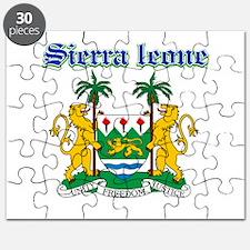 Sierra Leone designs Puzzle