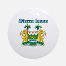 Sierra Leone designs Ornament (Round)