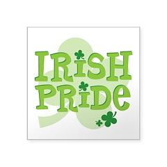 Irish Pride Square Sticker 3