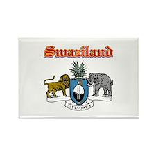 Swaziland designs Rectangle Magnet