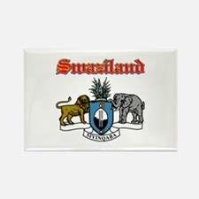 Swaziland designs Rectangle Magnet