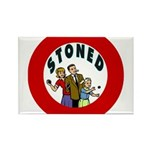 STONED Rectangle Magnet (100 pack)