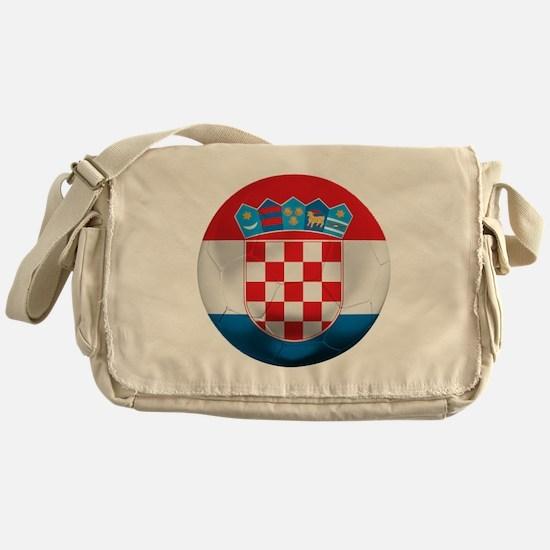 Croatia Football Messenger Bag