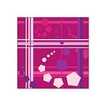 Pentagons taste like Grape Soda Square Sticker 3
