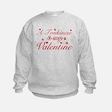 A Tonkinese is my valentine Sweatshirt