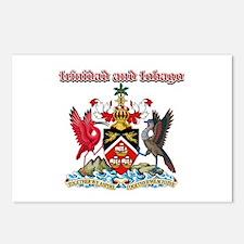 Trinidad And Tobago designs Postcards (Package of