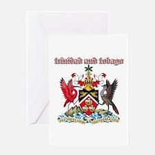 Trinidad And Tobago designs Greeting Card