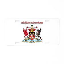 Trinidad And Tobago designs Aluminum License Plate