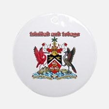 Trinidad And Tobago designs Ornament (Round)