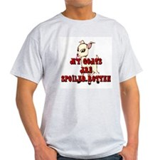 Goats-Spoiled Rotten Ash Grey T-Shirt