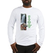 Lord Help Me -RecMag -Greyhound,Fawn Long Sleeve T