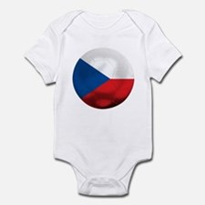 Czech Republic Football Infant Bodysuit