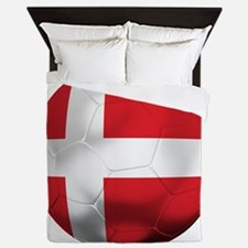 Denmark Football Queen Duvet