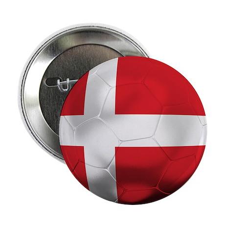 """Denmark Football 2.25"""" Button"""