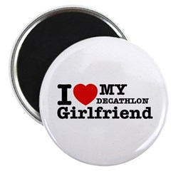 Cool Decathlon Girlfriend designs Magnet