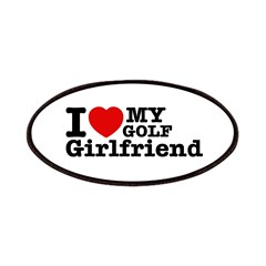 Cool Golf Girlfriend designs Patches